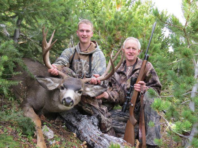 Mule deer kill
