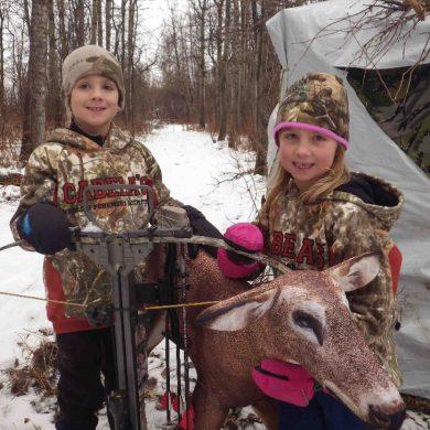 Winter bowhunting