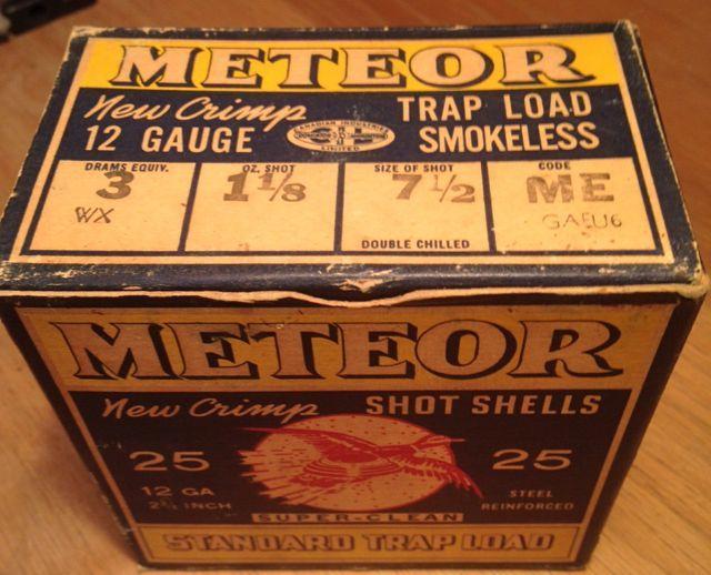 Meteor 12-gauge shells