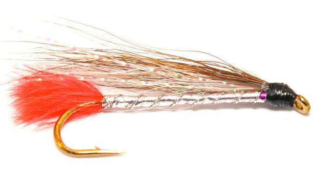 Brown & White Bucktail