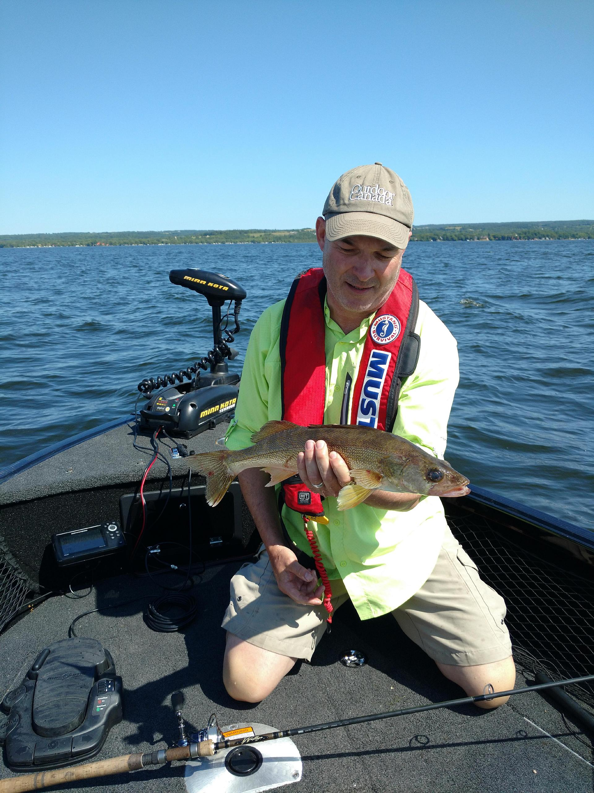 Rice Lake walleye