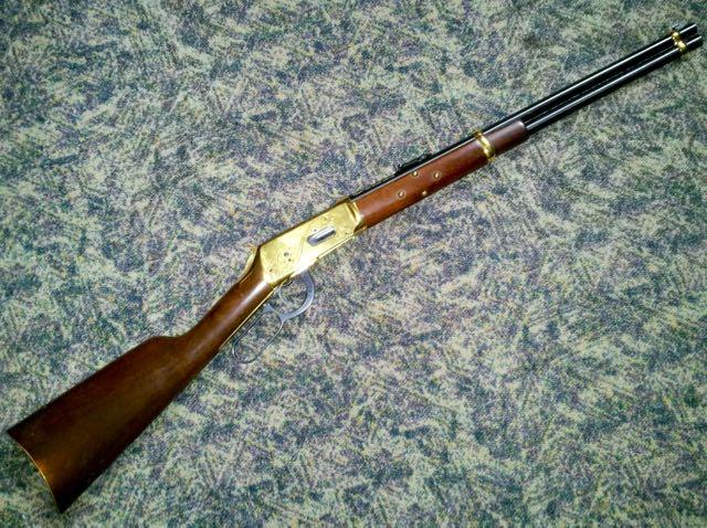 Winchester Model 94 Yellow Boy Indian Carbine in .30-.30 (serial #YB4719)