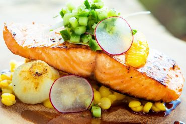 Maple Salmon: Take your shorelunch up a notch with this easy recipe