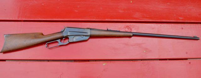Winchester Model 1895 in .30-40 Krag, serial #22588 (pictured above)