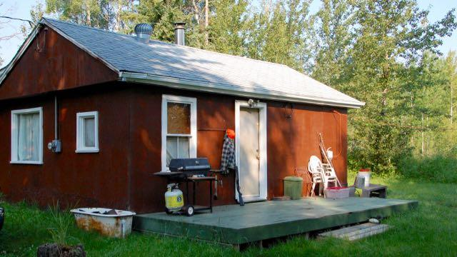 Hunting editor Ken Bailey co-owns a humble hunting camp (pictured above) northwest of Edmonton. Via Ken Bailey.