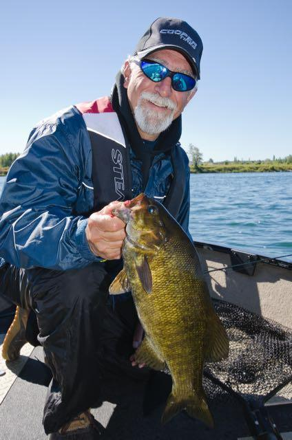Angelo Viola and a chunky Saint Pierre Smallie