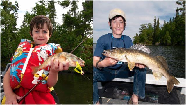 The author's grandson is now an ace angler. Credit: Gord Pyzer.