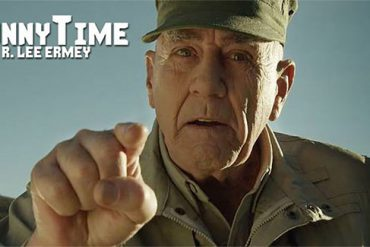 R. Lee Ermey a.k.a. The Gunny