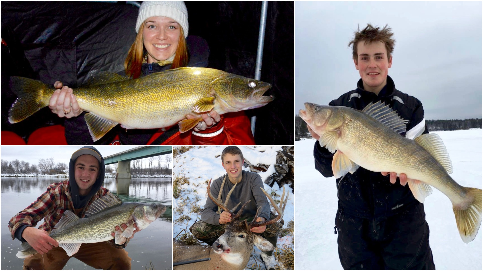 4 wild winter fishing and hunting photos by Outdoor Canada readers