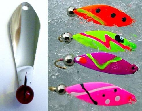Colourful beaded spoons are deadly on yellow perch