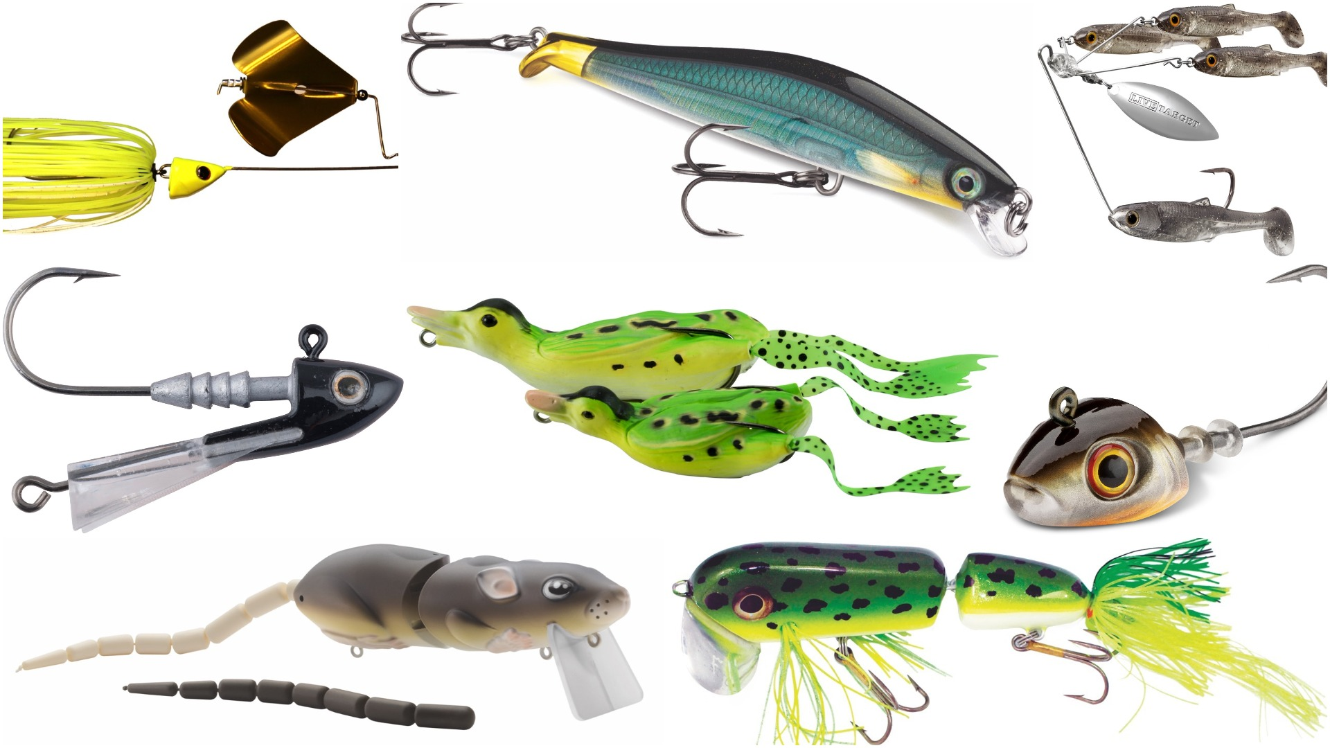 Tackle Week 2018: 14 New Lures for Walleye, Bass, Trout