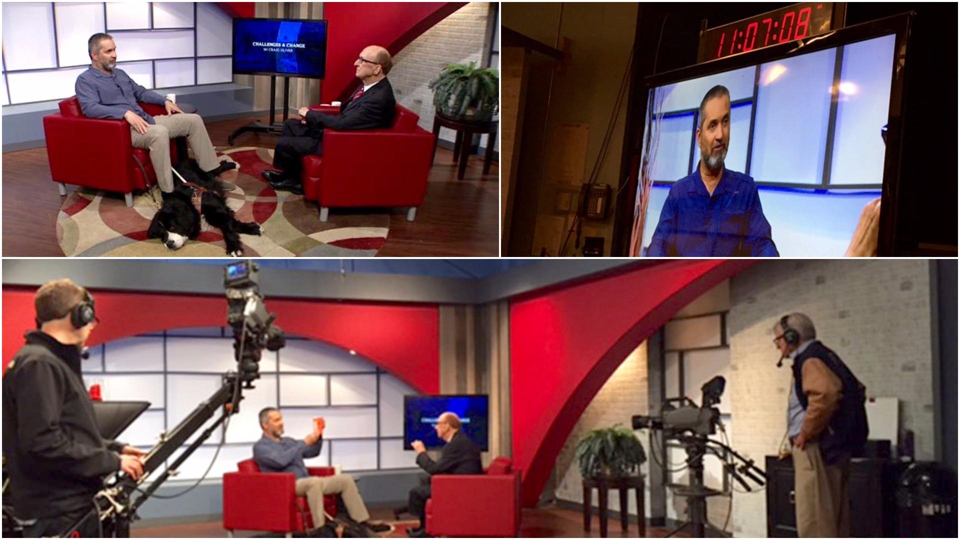 Blue Fish Radio: TV journalist Craig Oliver interviews Lawrence Gunther