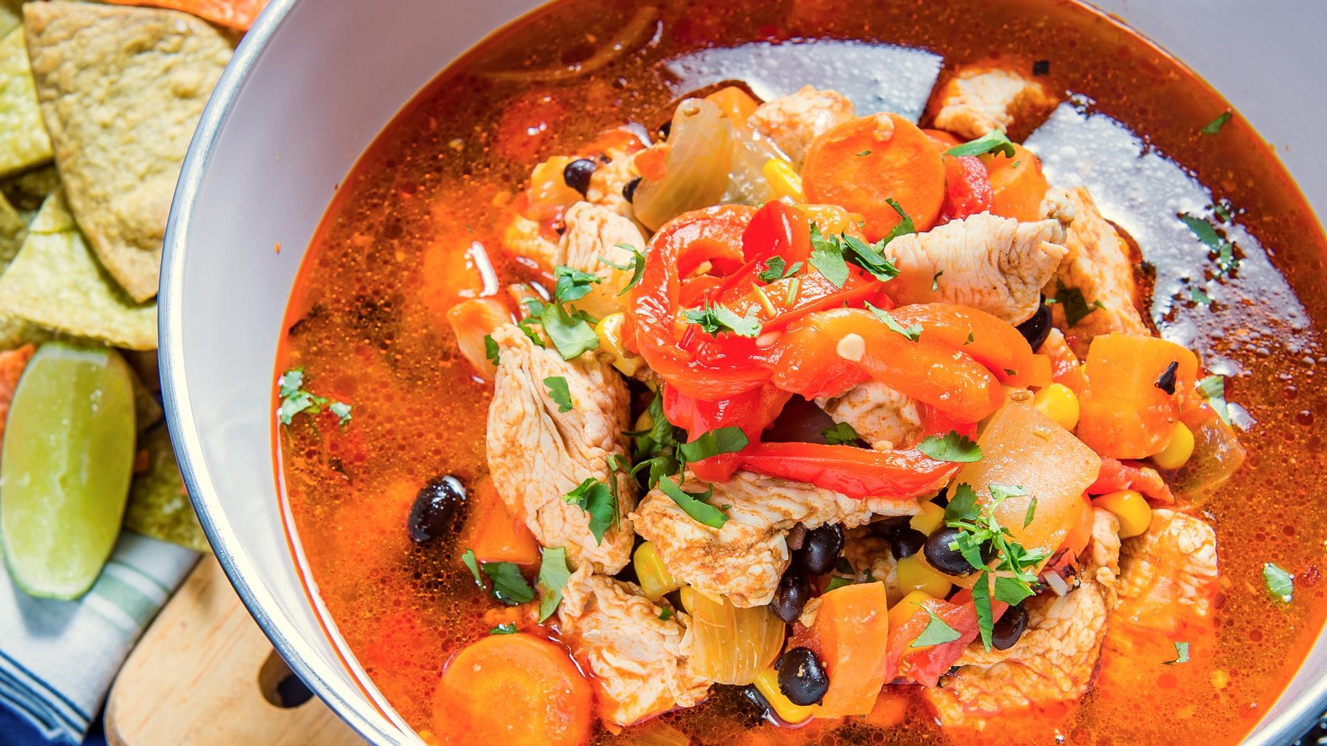 Tex-Mex Turkey Soup: A hearty feast from your spring gobbler