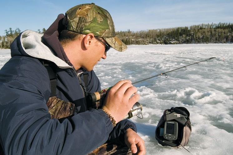 Portable sonar improves ice fishing