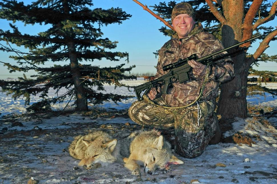 Credit: Al Voth A successful hunt starts with finding food sources