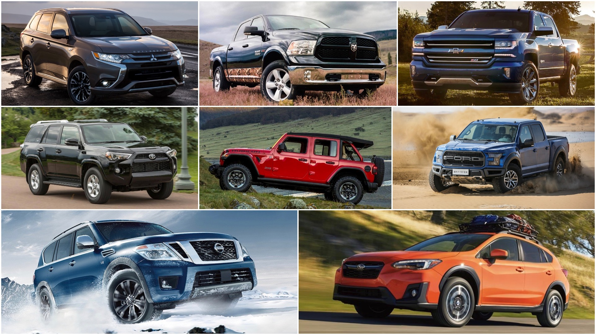 2018's best new trucks and SUVs for Canadian anglers and