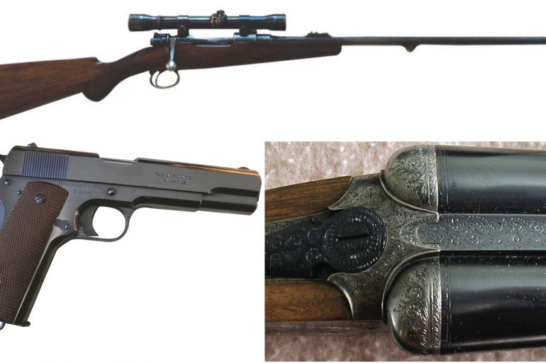 One of these heirloom firearms is worth more than $25,000