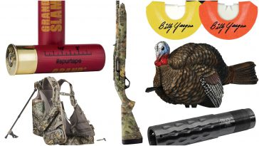 2018's best new gear for Canadian turkey hunters
