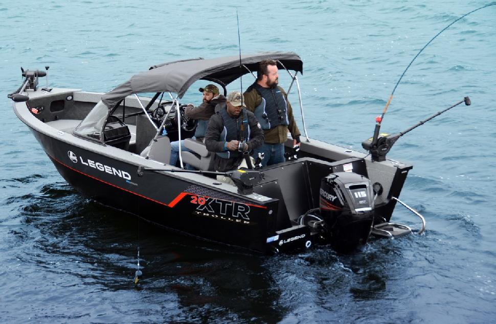 LEGEND BOATS: 20 XTR Troller