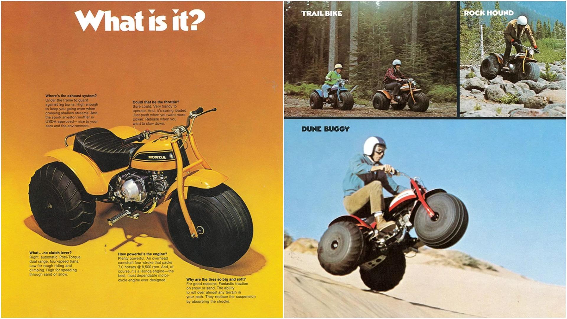 An homage to Honda's ATC90: The first modern ATV • Outdoor Canada