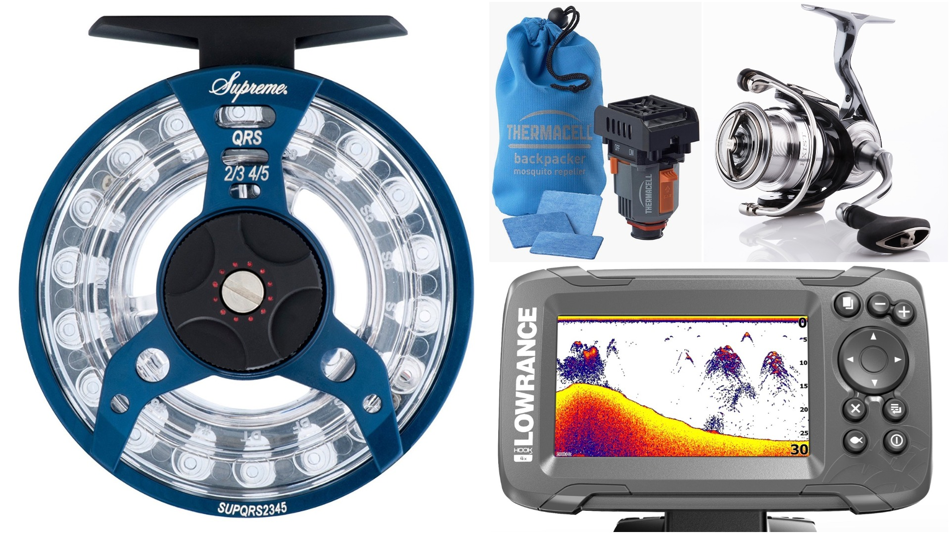 Even more great new fishing and camping gear for the for Youtube trout fishing