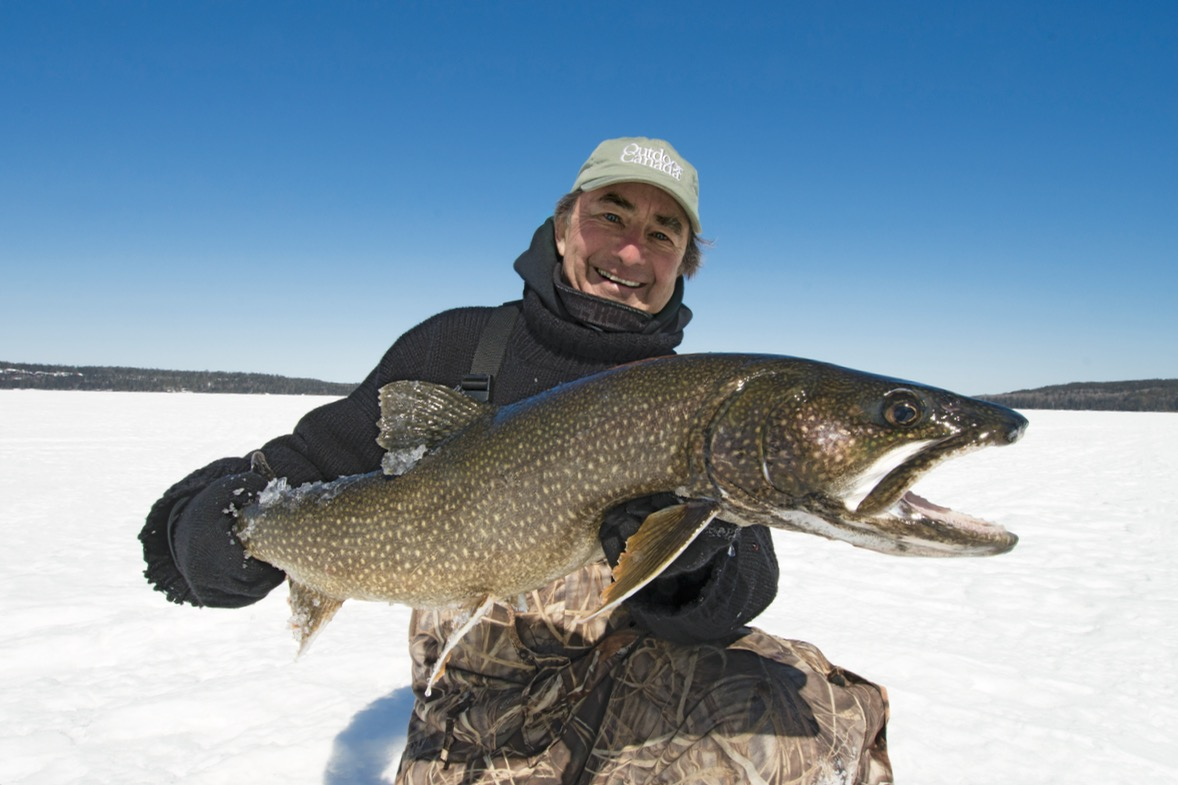 what to use for lake trout ice fishing