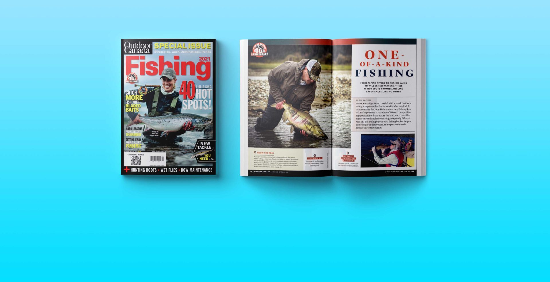 Outdoor Canada magazine.