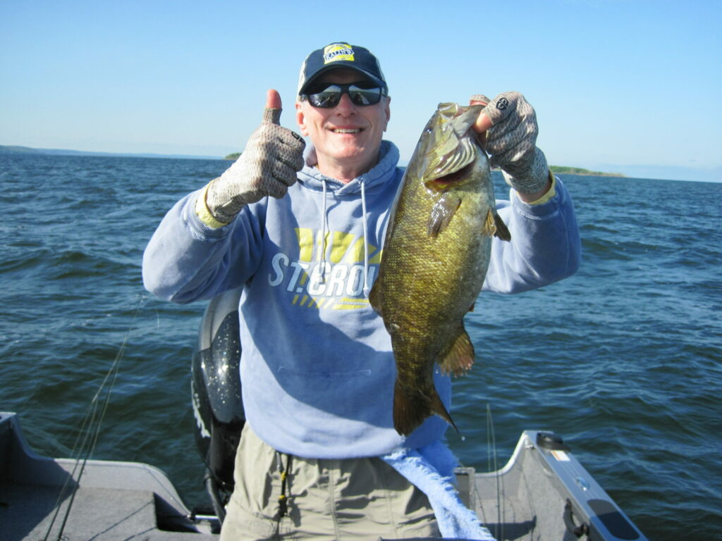 Lure tips from an angler whos caught 25,000 smallmouth